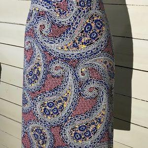 J Crew | Paisley Print Pencil Skirt 2